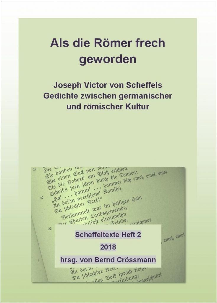 Scheffeltexte 2 Scheffel Freunde Bad Säckingen E V